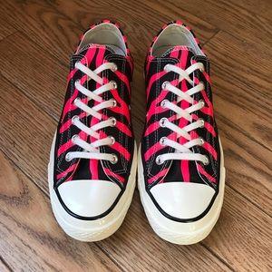 Converse neon zebra 70's revival All Stars
